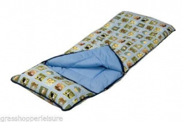 SunnCamp Junior Nature Kids Sleeping Bag